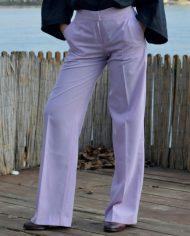 Hajdučica Clothing – Online Store- Pulp Fiction svetlo ljubičaste pantalone