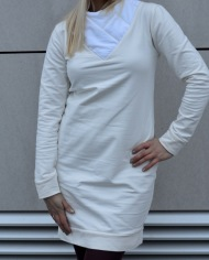 Hajdučica Clothing – Online Store – Back To The Future White Dress