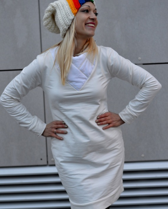 Hajdučica Clothing - Online Store - Back To The Future White Dress