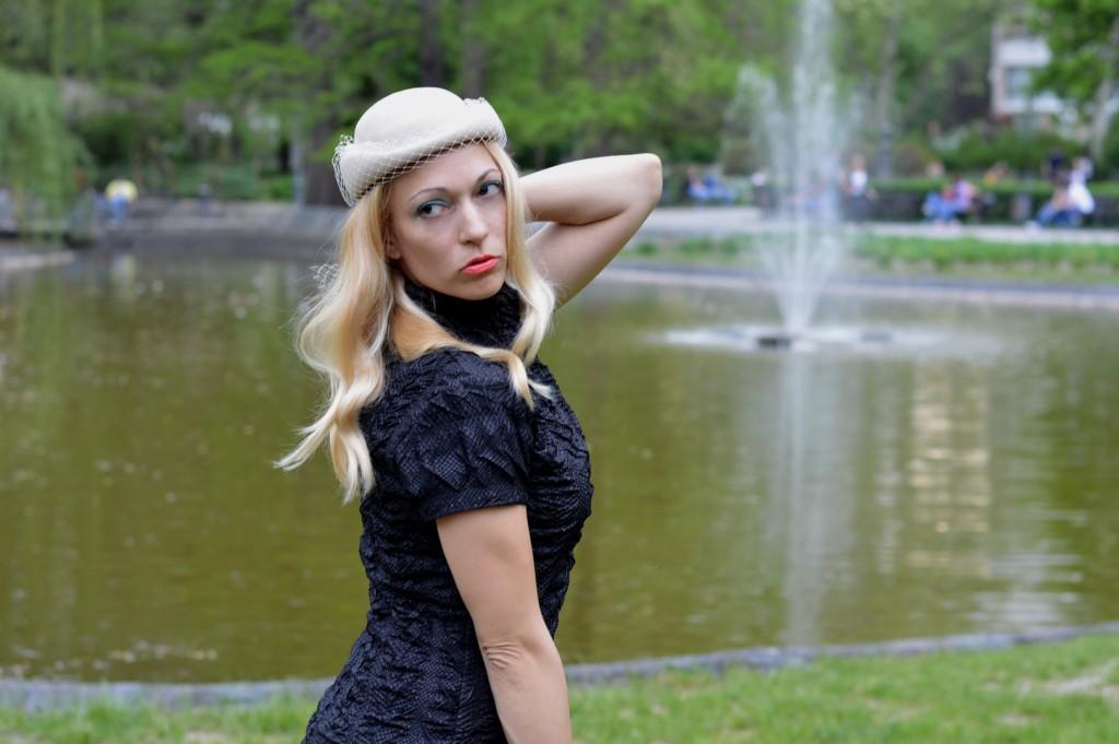 Hajdučica Clothing - Online Store - Fatal Attraction black dress