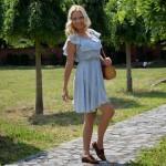 Hajdučica Clothing - Online Store - dress with flounce