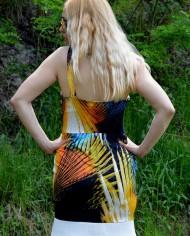 Hajdučica Clothing – Online Store -Tropical Heat Exotic Dress