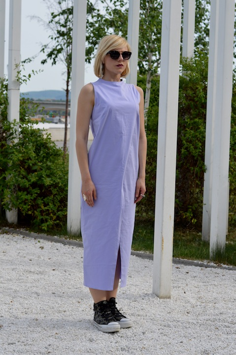 Hajdučica Clothing - Online Store - Purple Maxi Dress