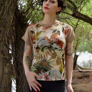Hajdučica Clothing - Online Store - Banana Kid Jumpsuit - Parrot Fever Blouse