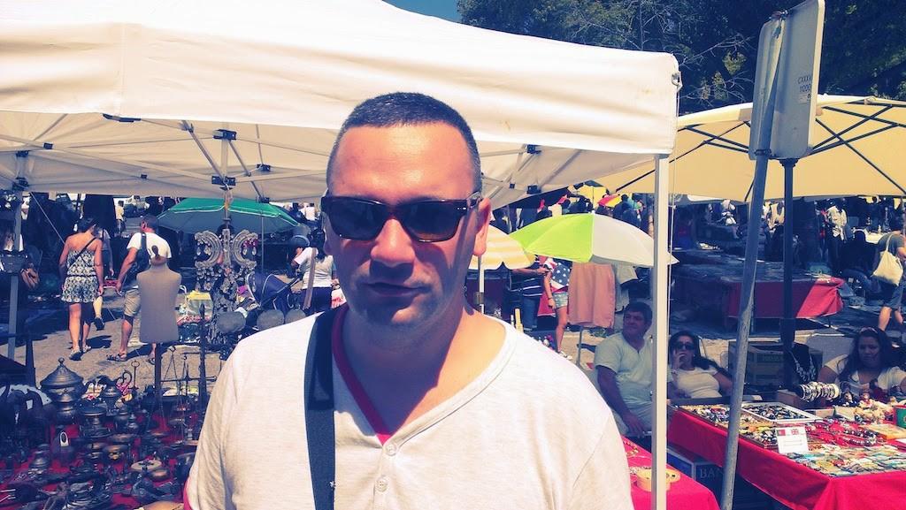 "Flea Market ""Feira Da Ladra"" Lisbon Portugal (Hajdi-Hajducica)"