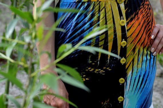 Hajdučica Clothing - Online Store -Tropical Heat Exotic Dress