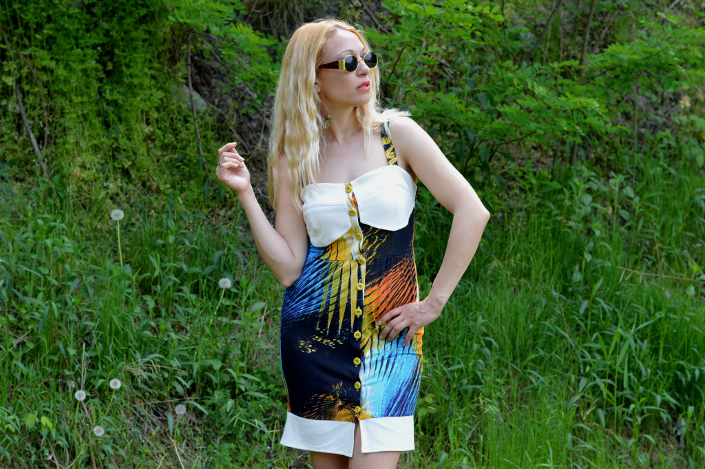 Hajdučica Clothing - Online Store -Tropical Heat Exotic Dress