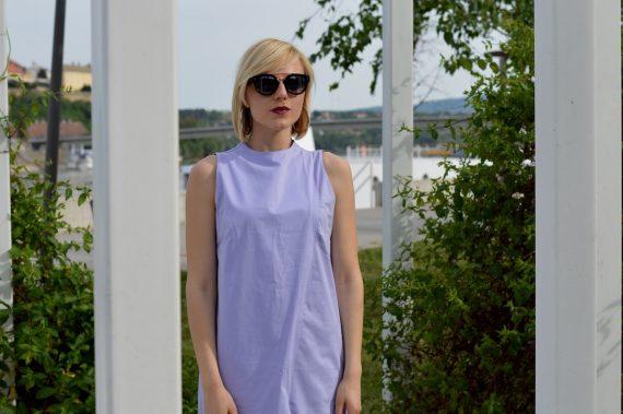 Hajdučica Clothing - Online Store - Purple Maxi Dress