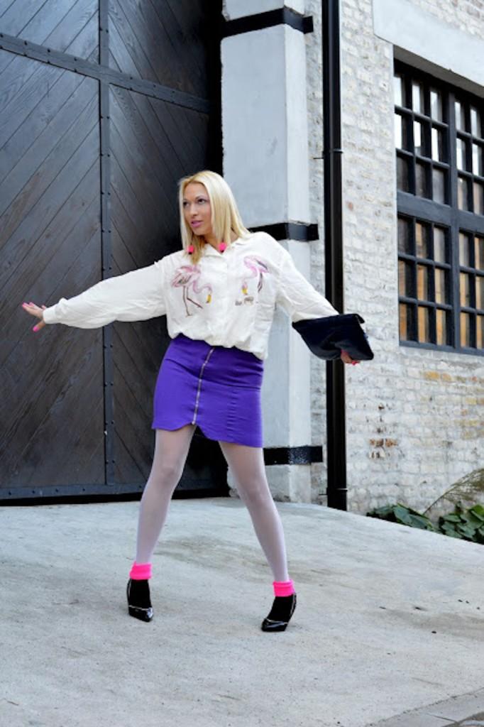 Hajducica Style - Clothing-Pink Flamingos